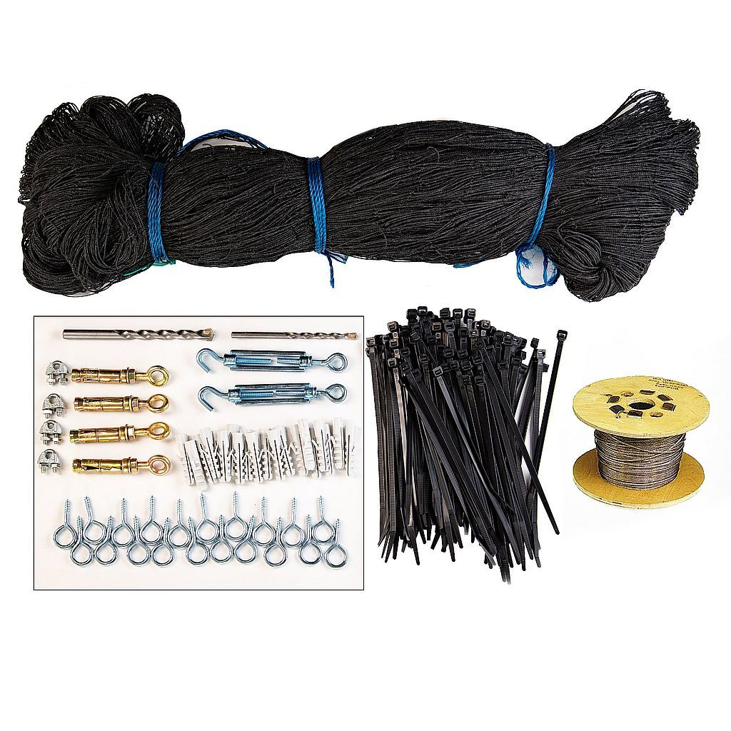 Bird Proofing and Control Netting  Kit 1