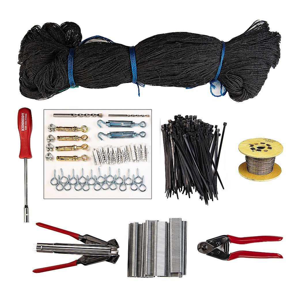 Bird Proofing and Control Netting Kit 4