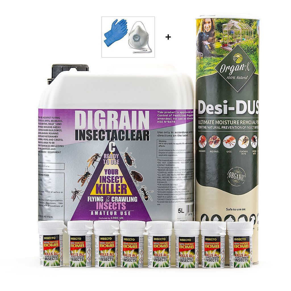 Carpet Moth  Kill and Control Treatment Kit 3