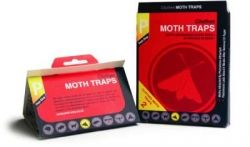 Clothes Moth Pheromone Glue Traps  x 2
