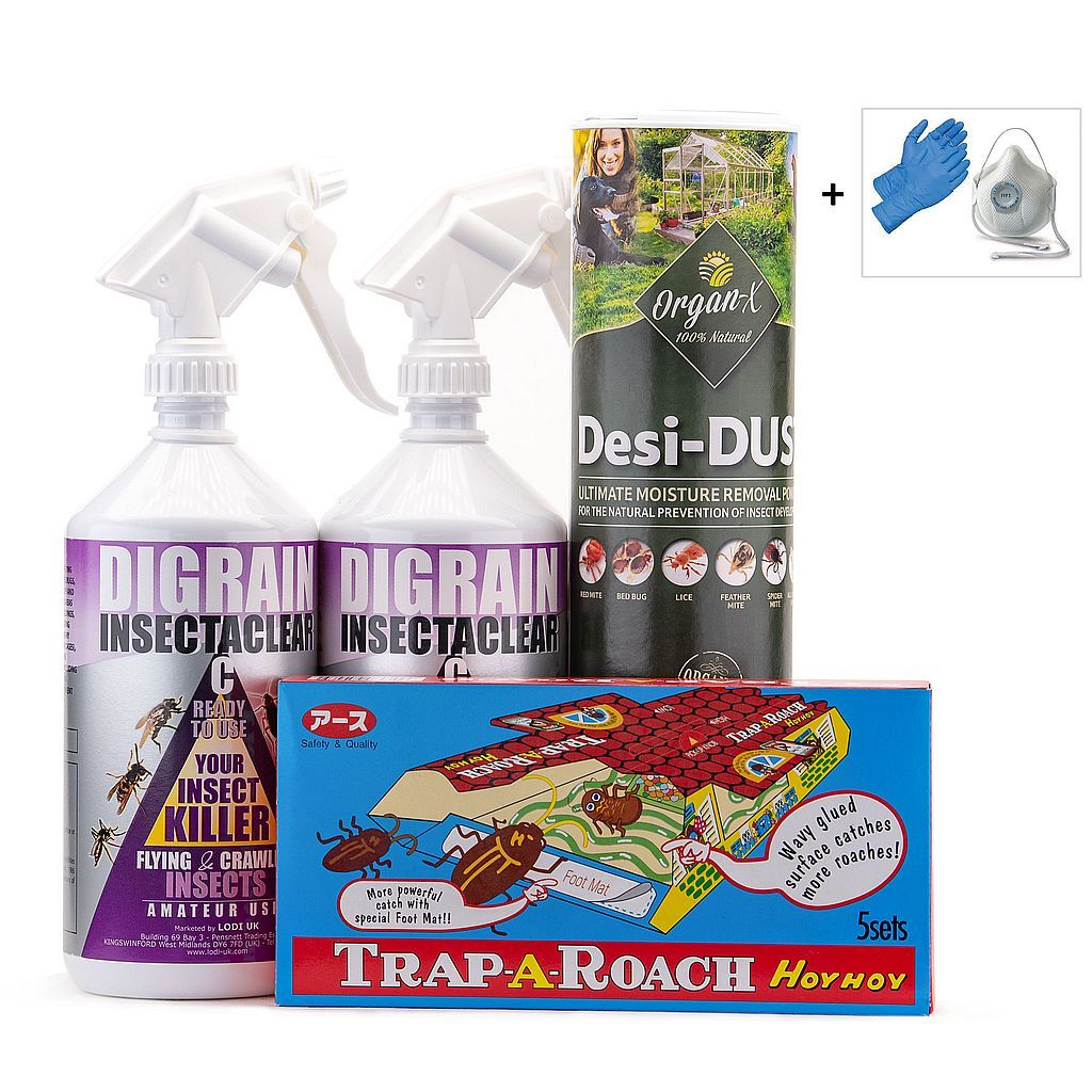 Cockroach Kill and Control Treatment Kit 2