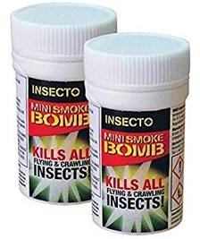 Cockroaches Mini Fumigation Smoke Bombs x 2