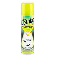 Dethlac Silverfish Killing Lacquer Spray Aerosol