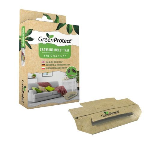 Green Protect & Chemical Free Woodlice & Earwig Killer Traps x 2