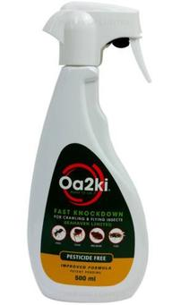 OA2KI Organic Clothes Moth Kill and Control Spray 500ml