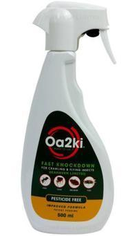 OA2KI Organic Silverfish Kill and Control Spray 500ml
