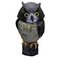 Owl Decoy Bird Repeller with Moving Head
