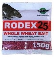 Rodex Mouse Poison Sachets 20 x 150g