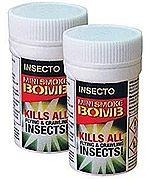 Woodlice and Earwig Mini Fumigation Smoke Bombs x 2